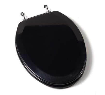 amazon black toilet seat