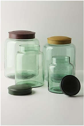 Accessories Recycled Glass Canisters at Anthropologie portrait 3