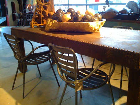 artefacts sonoma thonet chairs