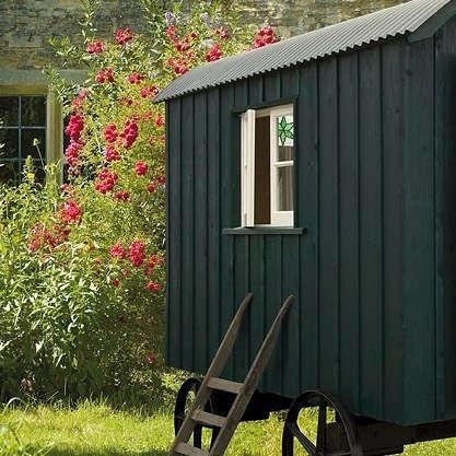 Outdoors Artisan Shepherds Huts in Sussex portrait 3