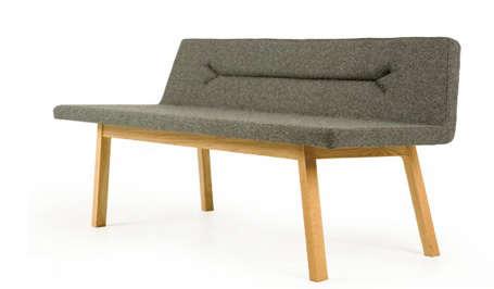 Furniture: Atlantico Felt Bench portrait 2