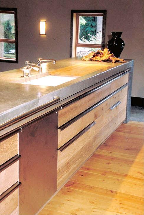 barn conversion kitchen detail