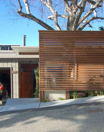 Architect Visit Jerome Buttrick in the Berkeley Hills portrait 4