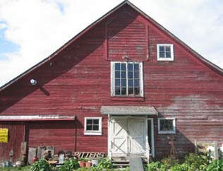 bitters co barn exterior