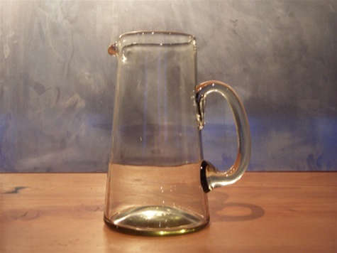 bitters co clear glass pitcher