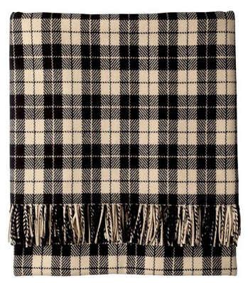 black and ecru toast blanket