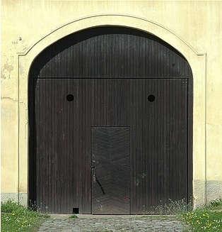 black door from france 2