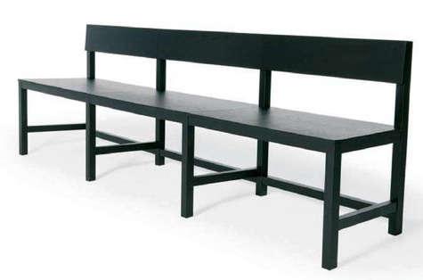 black moooi avl shaker bench
