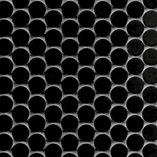 Tile  Countertop Basic Black Mosaic Tiles portrait 3
