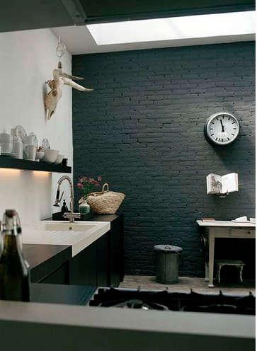 black white kitchen hotze eisma