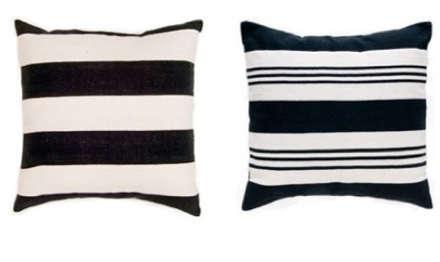 black white madeline weinrib pillows 2