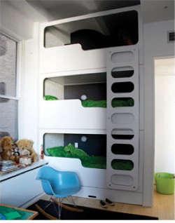 bloesem triple deck bunkbed