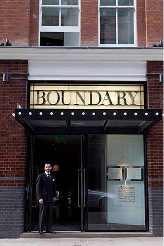 Hotels  Lodging Boundary Hotel in London portrait 3