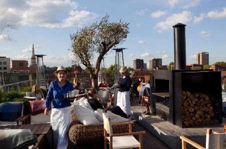 boundary hotel rooftop garden