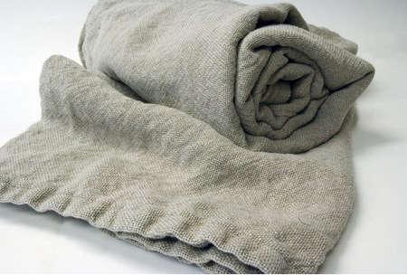brahms mount linen blamket grey