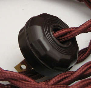 Hardware Sundial ClothCovered Electrical Cord portrait 4