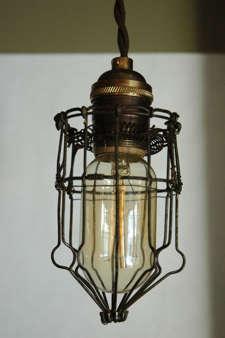 Lighting Vintage Cage Lights portrait 5