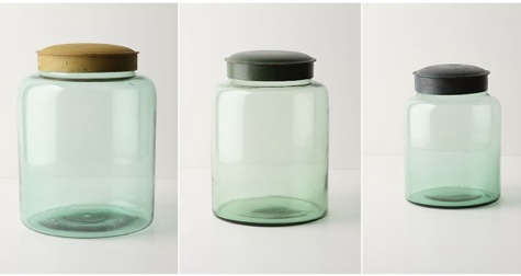 Accessories Recycled Glass Canisters at Anthropologie portrait 4