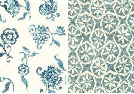 carolina irving blue floral