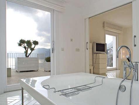 casa angelina bath with view