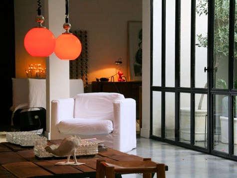 casa honore orange lamp window