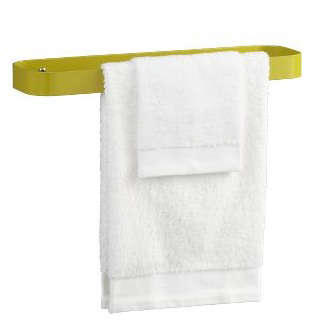 Bath Slat Ring Towel Holder from CB2 portrait 4