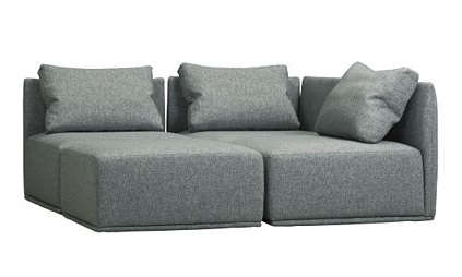 Furniture HighLow Sectional Sofa portrait 5