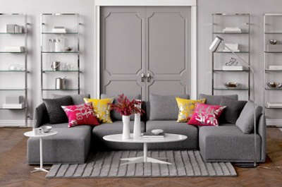 Furniture HighLow Sectional Sofa portrait 4