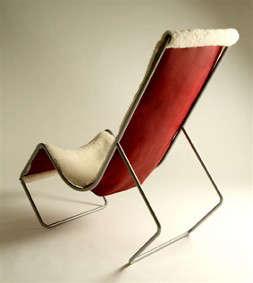 Furniture SheepskinCovered Seating portrait 9