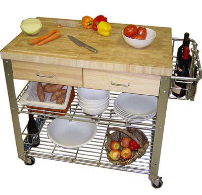 chris n chris kitchen cart