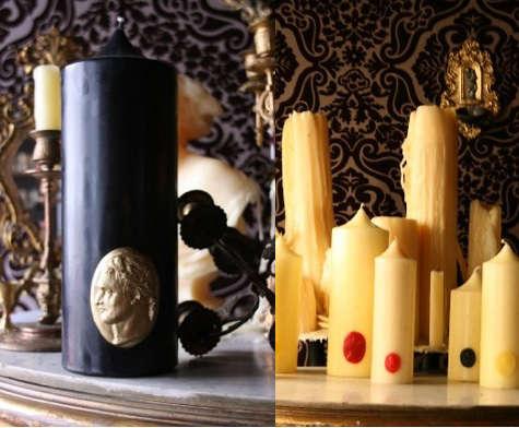 cire trudo black and white candles