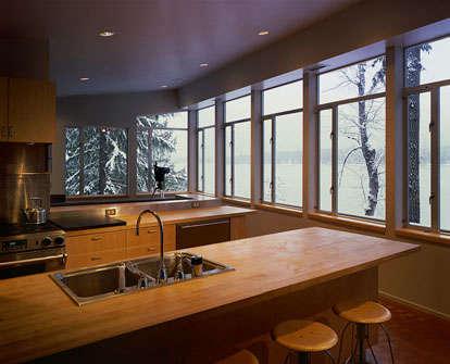 Architect Visit Eric Cobb Cascade Lake House portrait 9