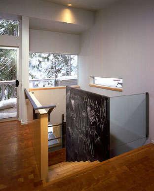 Architect Visit Eric Cobb Cascade Lake House portrait 4