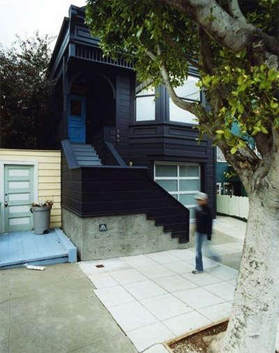 clipper street black exterior