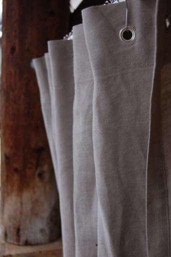 couleur chanvre shower curtain hemp 1