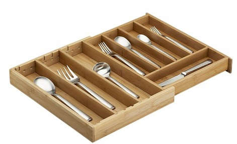 crate barrel drawer tray