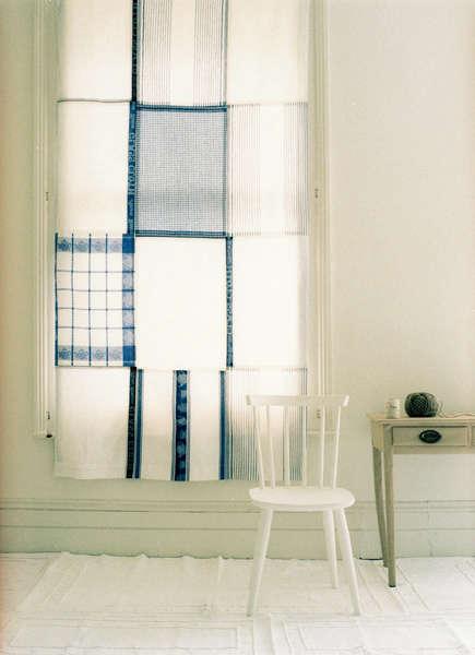 Fabrics  Linens Tea Towel Kitchen Curtain portrait 3