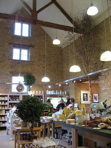 daylesford organic interior barn