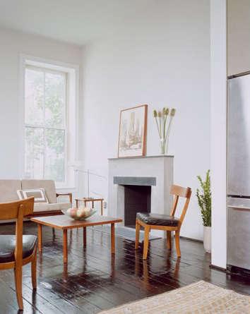 Architect Visit Delson or Sherman East Harlem Brownstone portrait 6