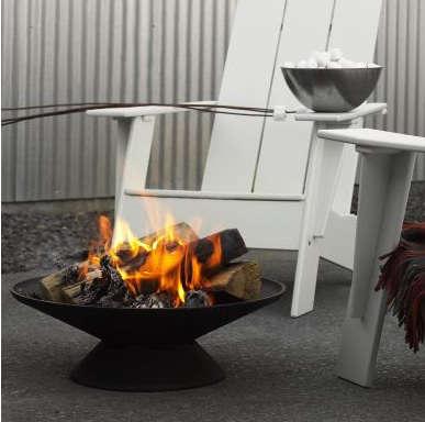 dwr cast iron firebowl