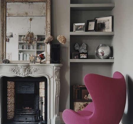 dylan thomas pink chair