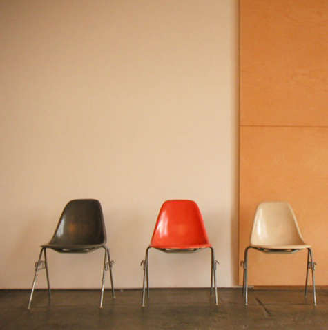 eames shell chairs different colors