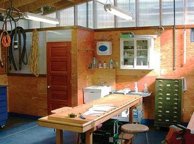 Architect Visit Harrison Architects Garage portrait 7