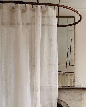 Bath Natural Shower Curtain Roundup portrait 4