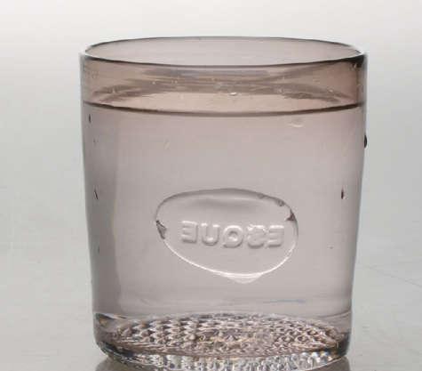 Tabletop Esque Glass Tumbler portrait 3