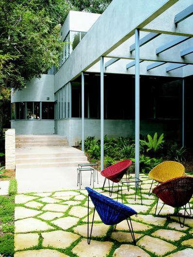 Architect Visit Richard Neutra in Laurel Canyon portrait 7