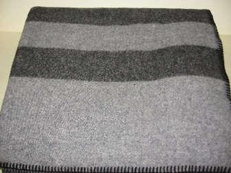 faribault mills gray blanket