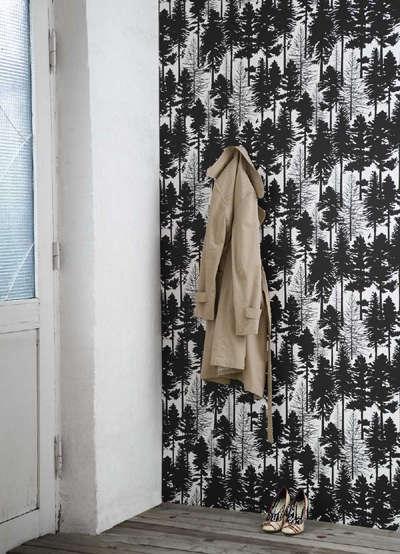 ferm fir tree wallpaper