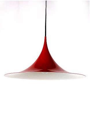 fog morup pendant light red