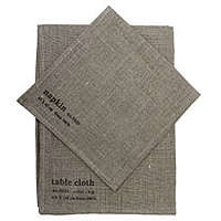 fog table cloths brownlr